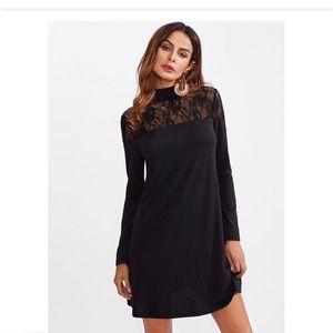 Dresses & Skirts - Sheer Lace Tee Dress